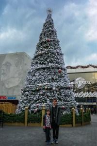 Universal City Walk Christmas Tree #universalcitywalkchristmas