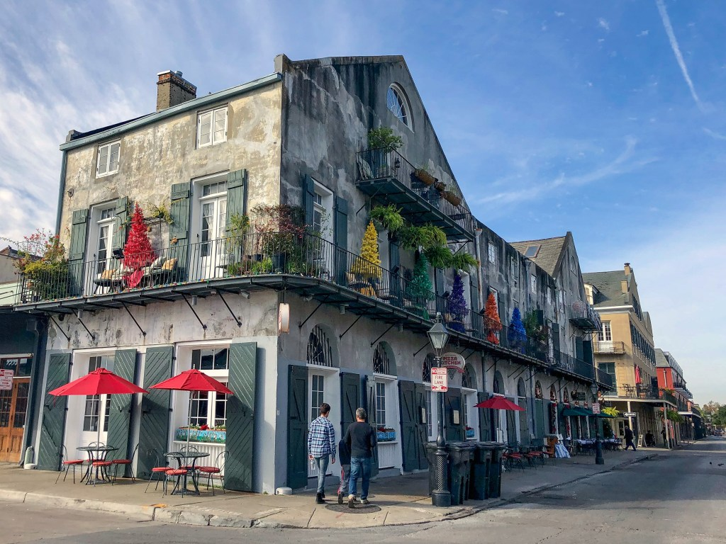 Barracks Street New Orleans Louisiana