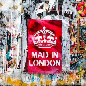 Brick Lane Graffiti London England United Kingdom