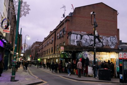 Brick Lane London December #bricklane