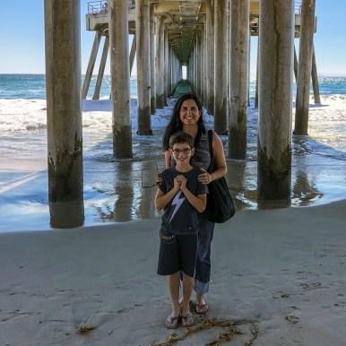 Huntington Beach Pier Huntington Beach California #familydayout #familytravel #daytripfromla