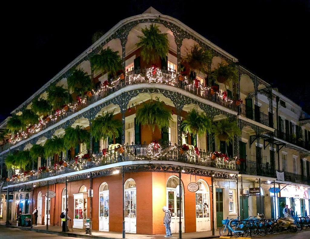 Festive House 637 St. Peter St New Orleans Louisiana