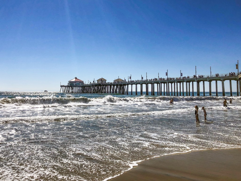 Huntington Beach Pier Huntington Beach California #daytripfromla