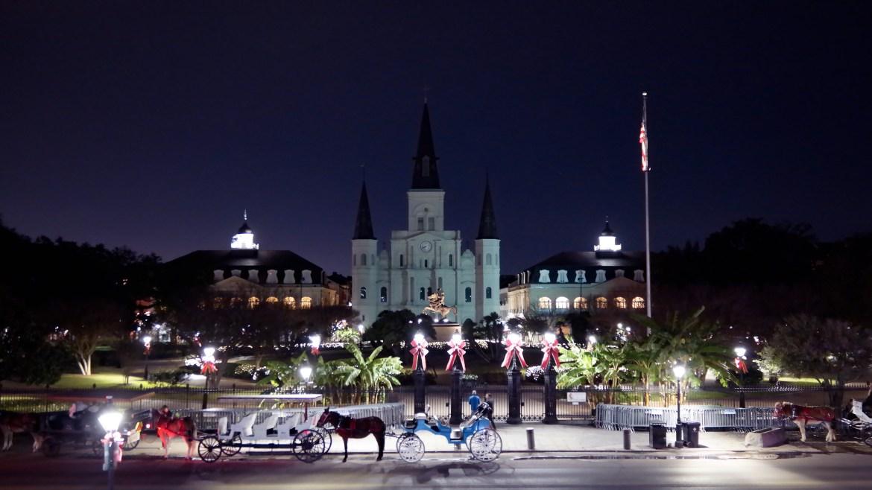 Jackson Square Holiday New Orleans Louisiana