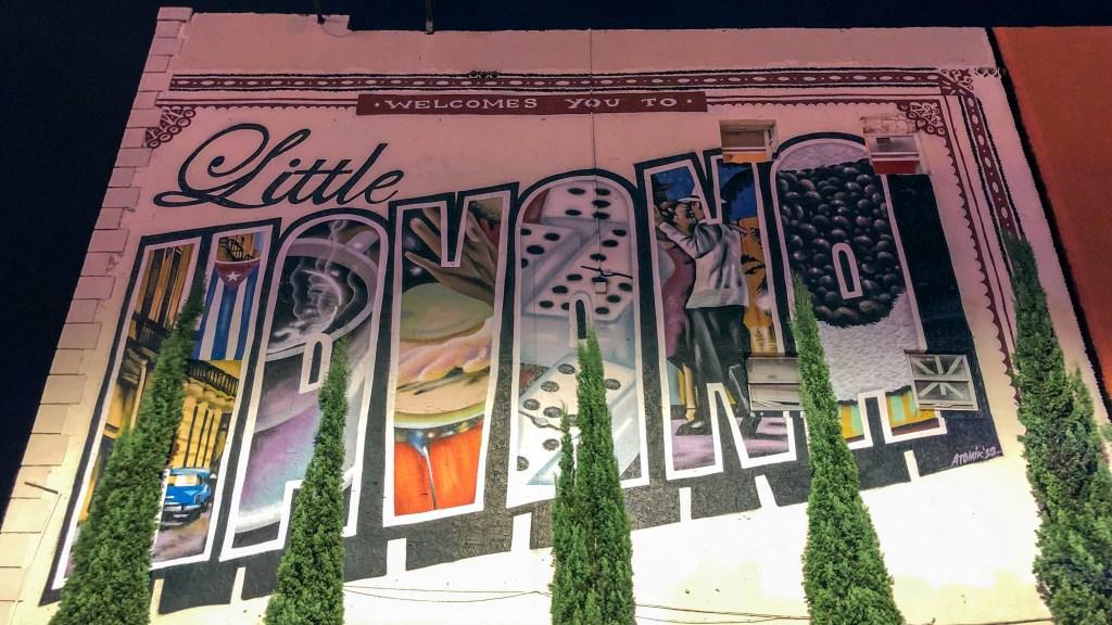 Little Havana Mural Miami Florida