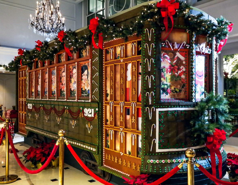 Ritz Carlton Gingerbread Sculpture New Orleans