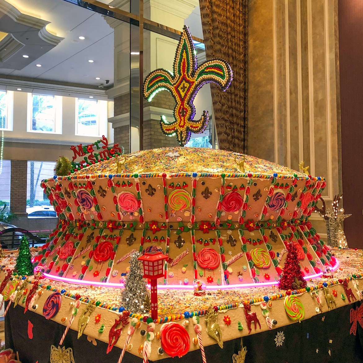 Sheraton Hotel Gingerbread Superdome New Orleans Louisiana