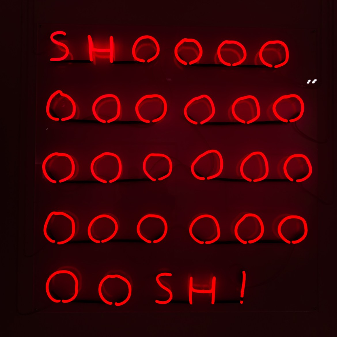 Title: Shoooosh! Artist: David Shrigley #artbaselmiami