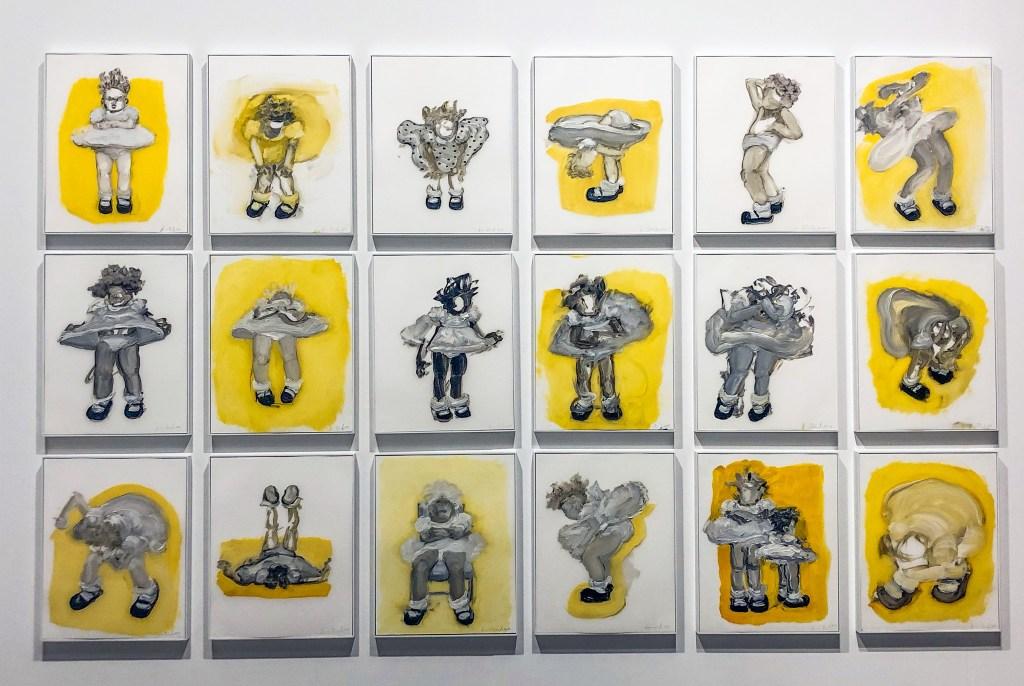 Artist:#artbaselmiami Kim Dingle Title: Studies for Lemon Tart 2011