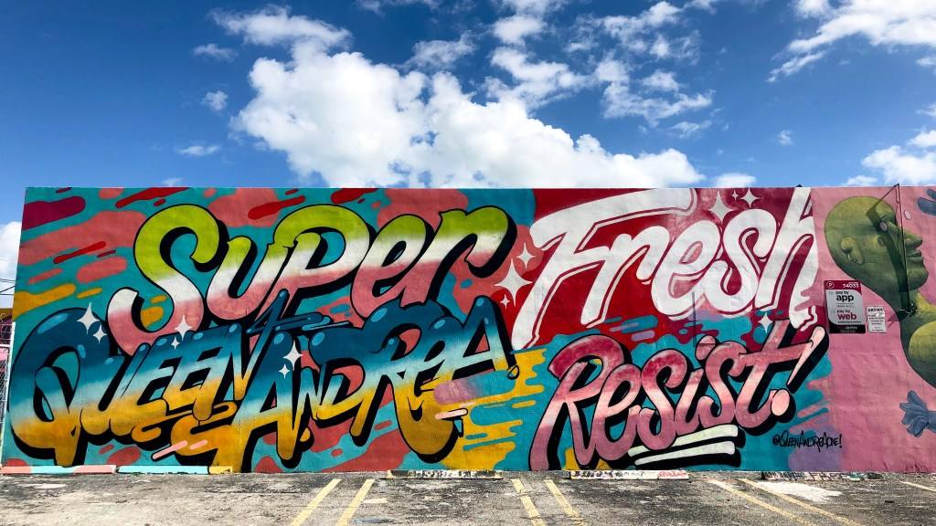 #queenandrea Wynwood Miami Florida