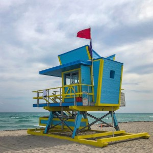 Lifeguard Tower Miami Beach Florida