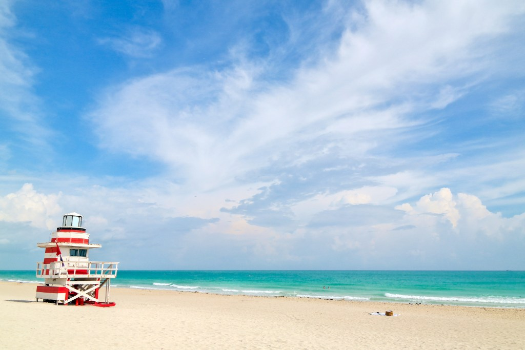 Lifeguard Tower Miami Beach Florida #lifeguardtower