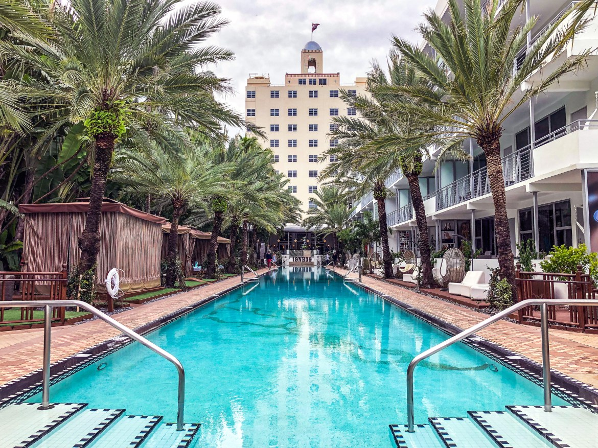 National Hotel Pool Miami Beach Florida #nationalhotel