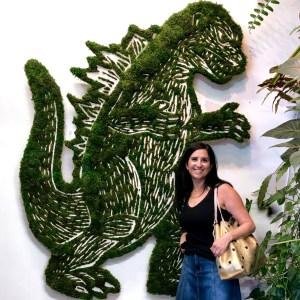 Plant the Future Godzilla Reedy & Teppa Wynnwood Miami Florida #godzillasculpture