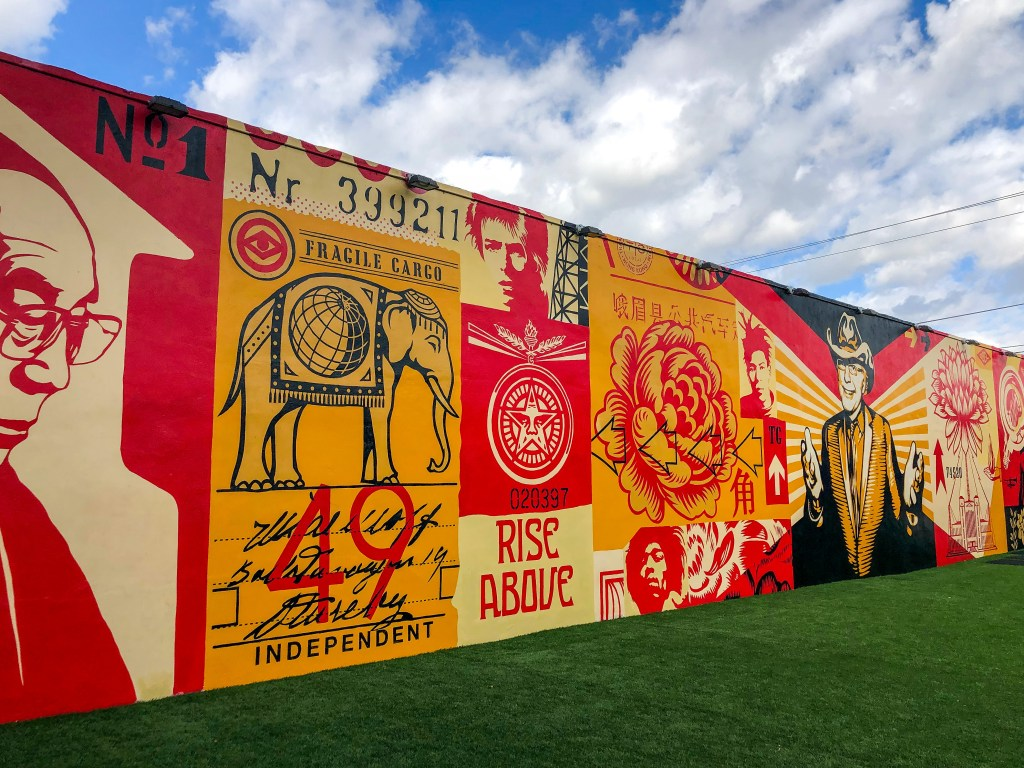 Shepard Fairey Wynwood Miami Florida