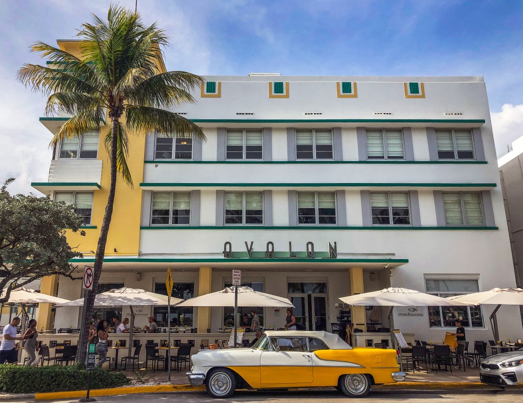 The Avalon Hotel Miami Beach Florida