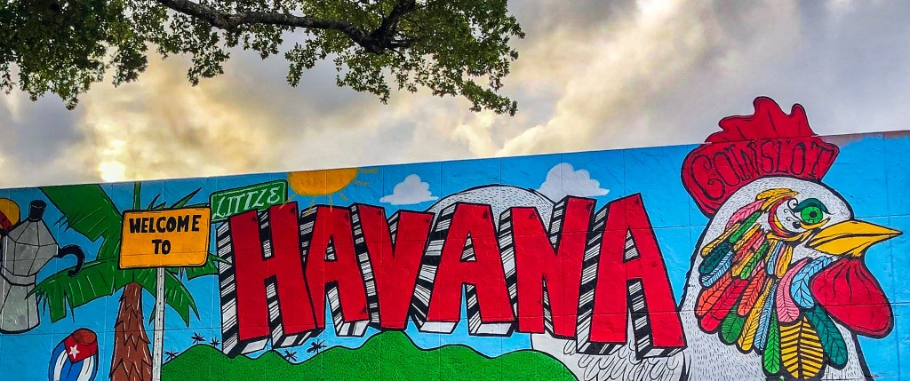 Welcome to Little Havana Miami Florida