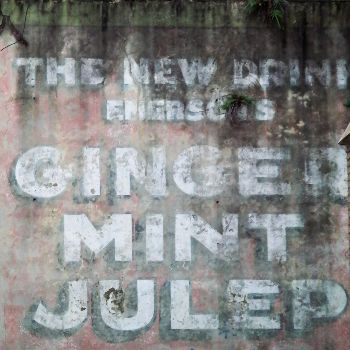 Ghost Sign French Quarter New Orleans Louisiana