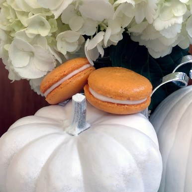 Pumpkin Cheesecake French Macaronn