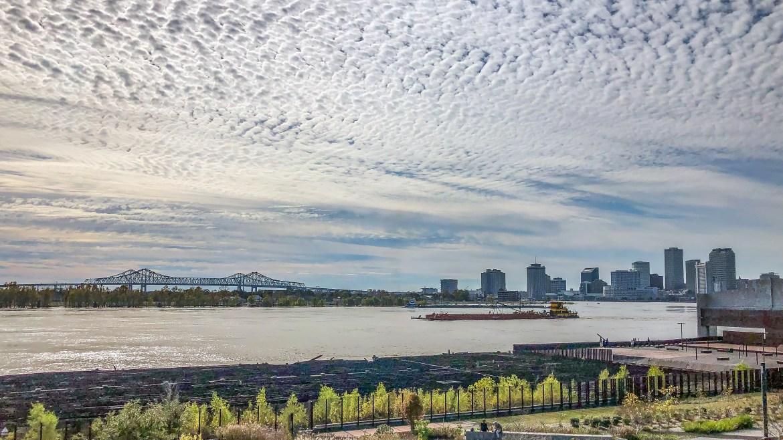 Rusty Rainbow Bridge View Bywater New Orleans Louisiana