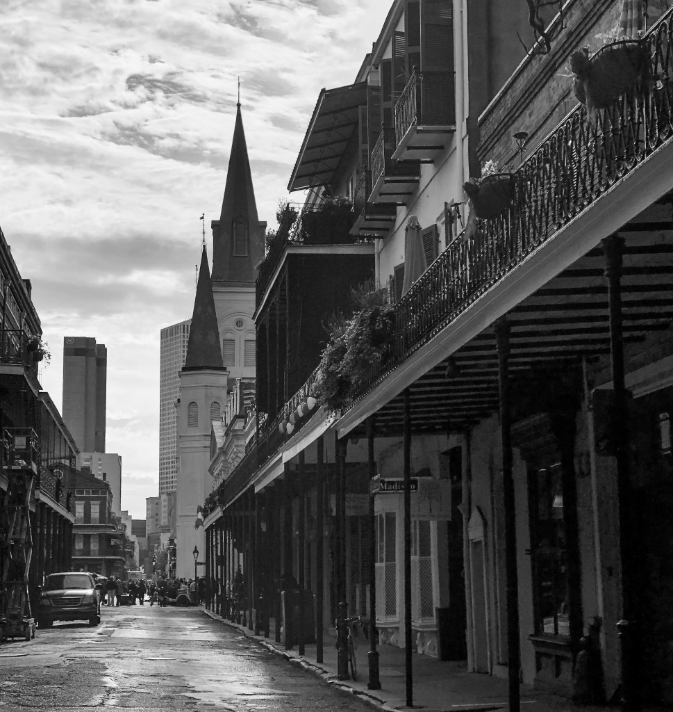 Chartres Street New Orleans Louisiana
