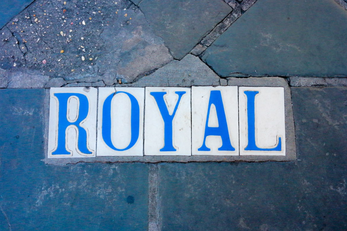 Royal Street Tiles New Orleans Louisiana