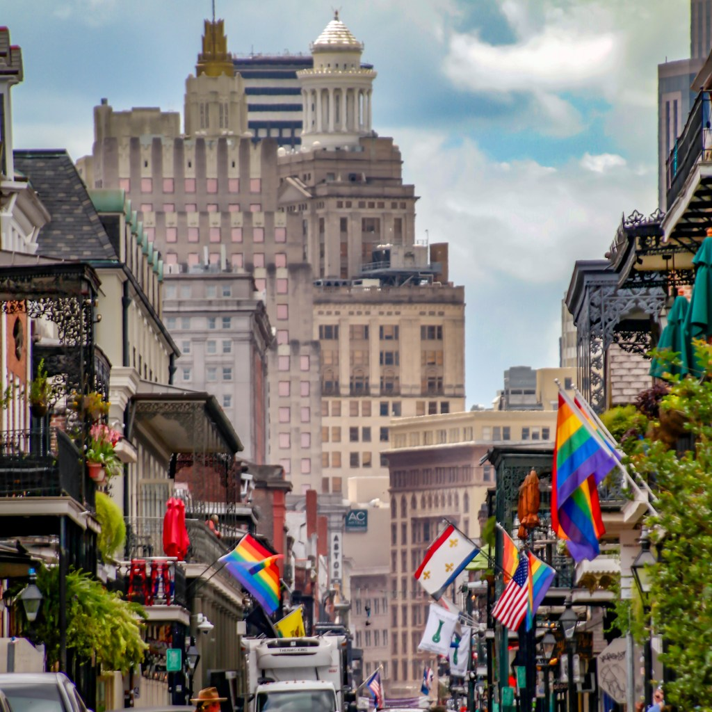 Bourbon Street New Orleans Louisiana
