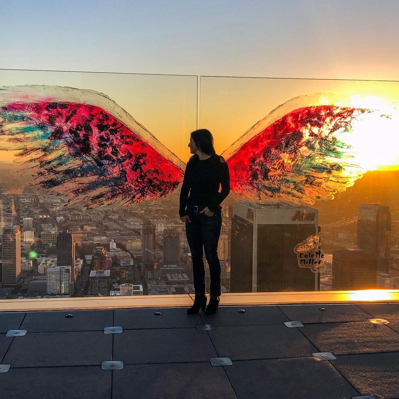 #skyspace Los Angeles California