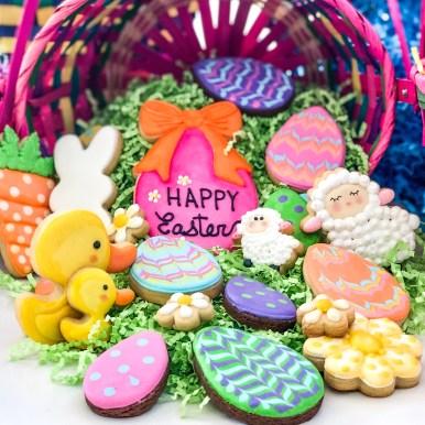 #eastercookies #cookieshilarystyle #cookiesareeverything #customcookies #holidaycookies