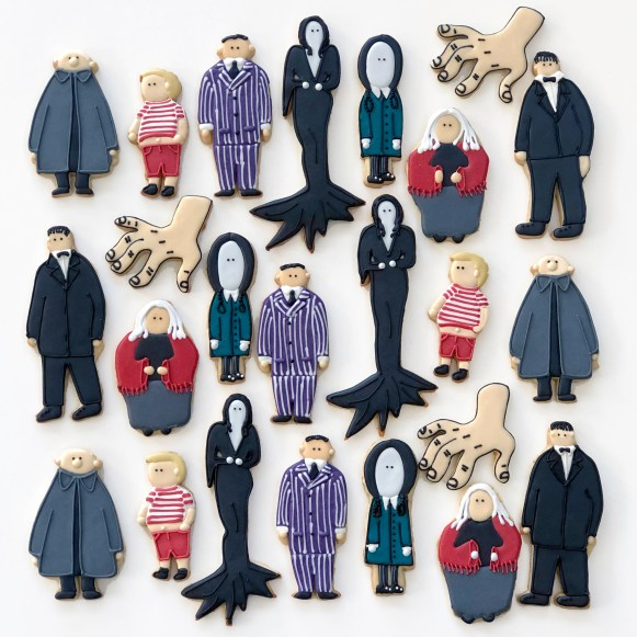 Addams Family Cookies