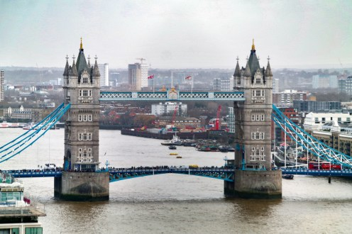 View from The Monument London England United Kingdom #towerbridge