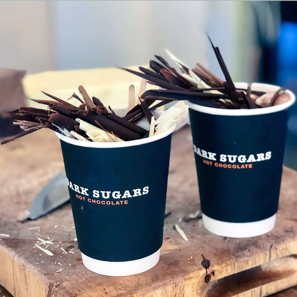 #bricklane Dark Sugars Hot Chocolate London England #darksugars
