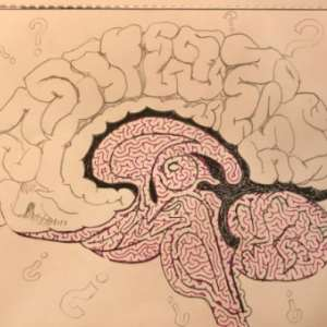 Free Printable Hand Drawn Brain Maze. Easily downloadable and printable PDF format. Great Mazes for both kids & adults very challenging but fun.