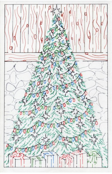 Free Printable Hand Drawn Christmas Tree Maze and Puzzle. Perfect for Xmas family events or Christmas activities. Perfect for teachers, day care and school parties. Easily downloadable free printable PDF format. Great Mazes and Games for both kids & adults very challenging but fun.