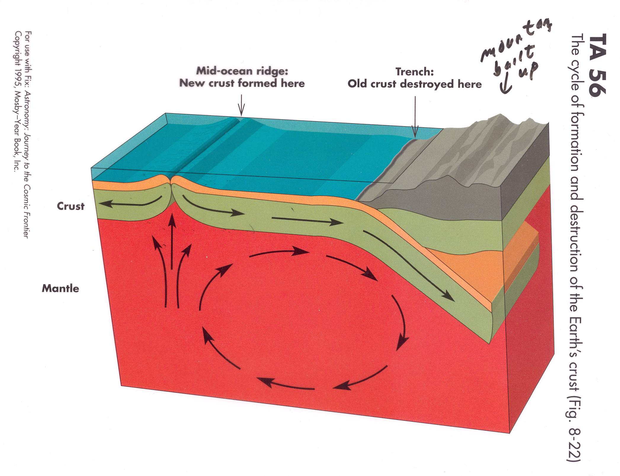 The Convection Currents In Mantle Pictures To Pin On