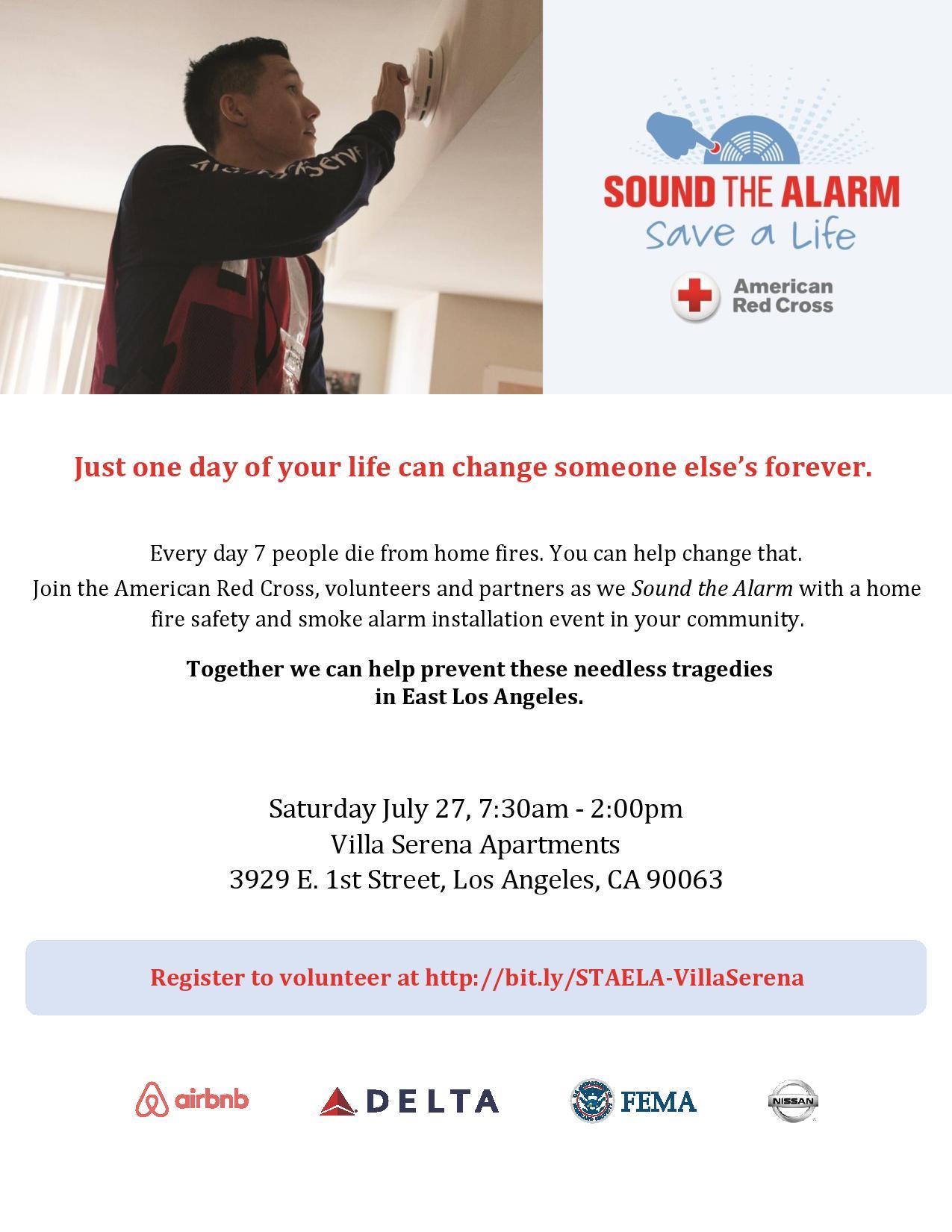 Sound the Alarm – East LA – Supervisor Hilda L Solis