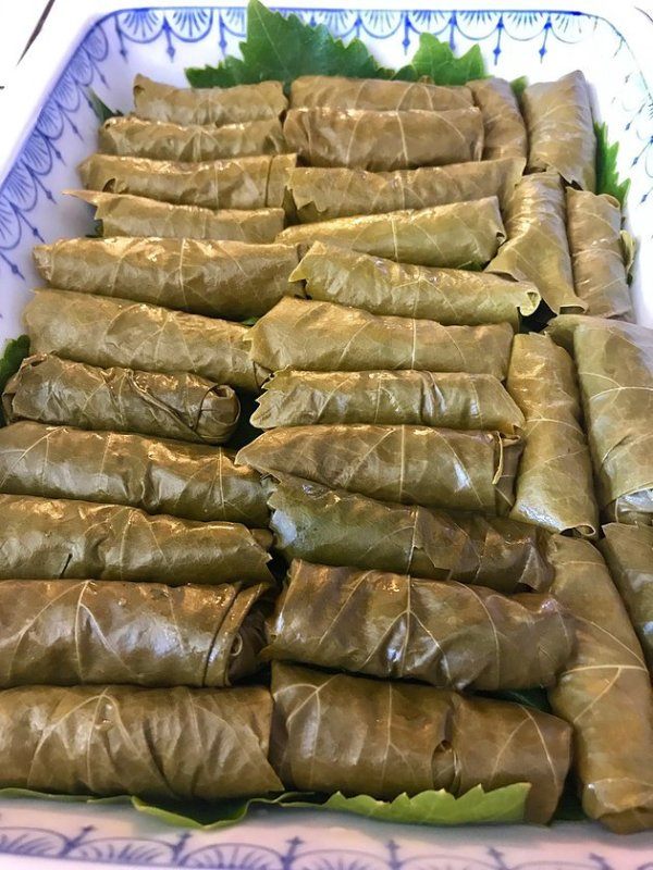 rolled dolmathes