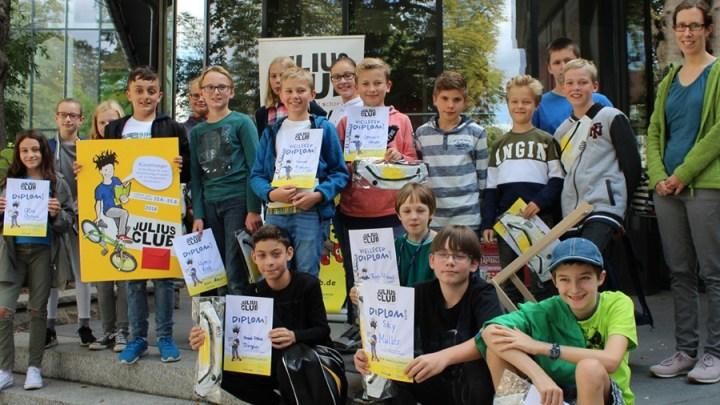 Sommerleseclub JULIUS: Neuer Teilnehmerrekord