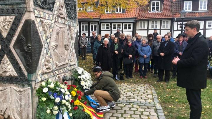 Gedenken an Opfer der Reichspogromnacht