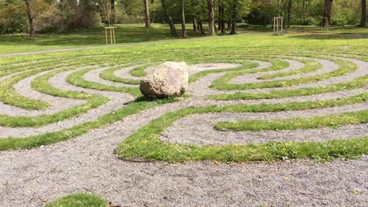 Labyrinthbegehung zum Jahresbeginn