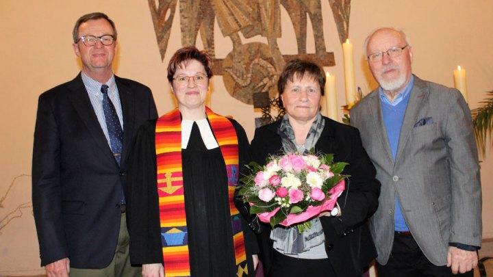 Helga Vogt: Spuren in der Gemeinde hinterlassen