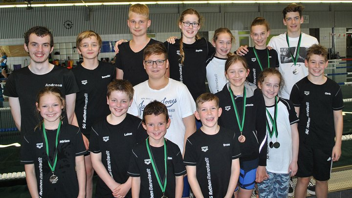 4. Schwimmfest  der Schwimmgemeinschaft Wunstorf am 19.05.2019