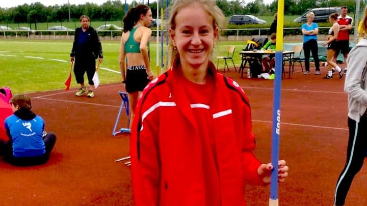 Emily Pischke ist fünftbeste Siebenkämpferin Niedersachsens