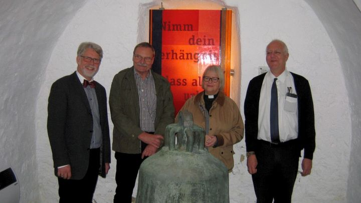 Glocke kehrt als Leihgabe nach 110 Jahren in ihre Heimatkirche zurück