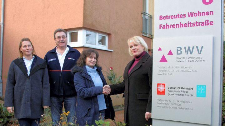 Caritas-St. Bernward ambulante Pflege übernimmt Angebot in der Fahrenheitstraße 8