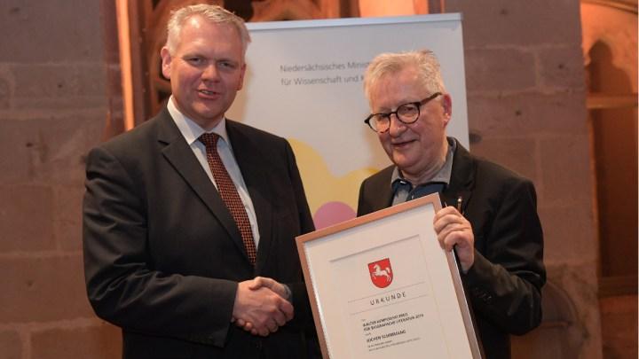 Walter Kempowski Preis für biografische Literatur verliehen