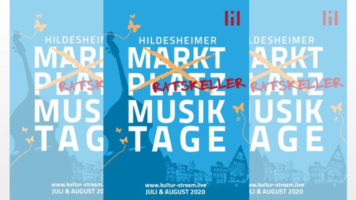 Hildesheimer Marktplatz Musiktage 2020 – Es wäre ja auch zu schön gewesen…