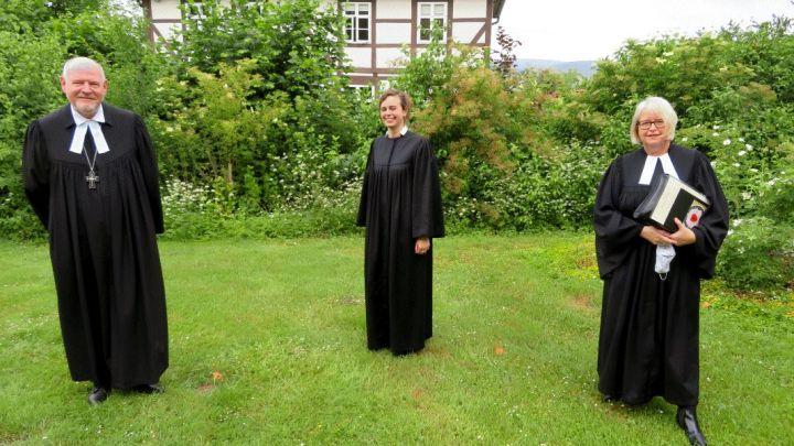 Kirchengemeinde Innerstetal hat wieder eine neue Pastorin