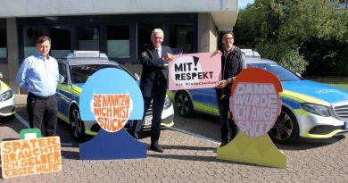 Mit Respekt! – Polizei Hildesheim beteiligt sich an landesweiter Initiative