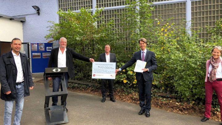 Stadt erhält 400.000 Euro für Turnhalle der Nordstadt-Grundschulen
